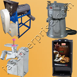 Beverage processing plants and machinery