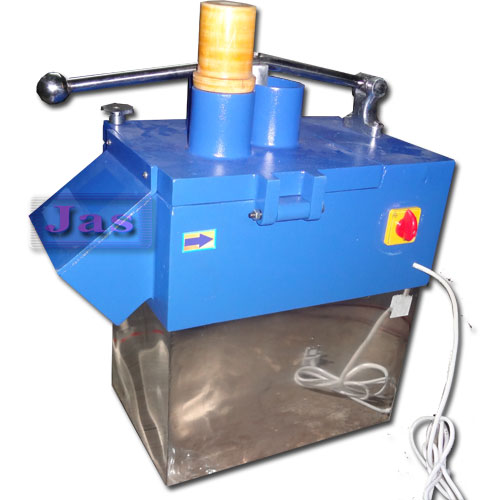 Commercial electric vegetable cutting machine