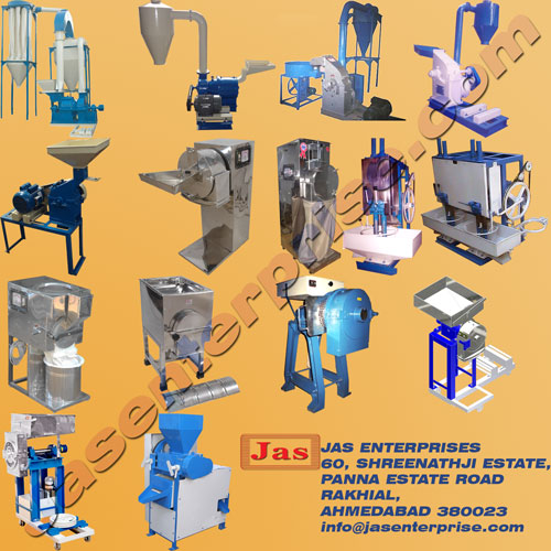 Industrial Crushing grinding and pulverizing equipments