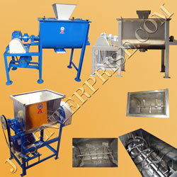 Industrial Mixing and blending machinery