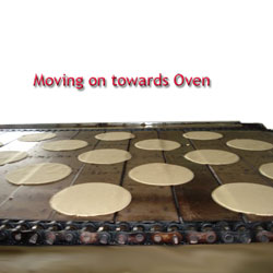 moving on towards oven
